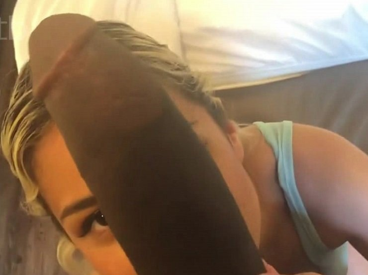 Two Amateur Teens Share Cock